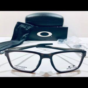 Oakley Men's Eyeglasses Metalink Matte Amber Frame